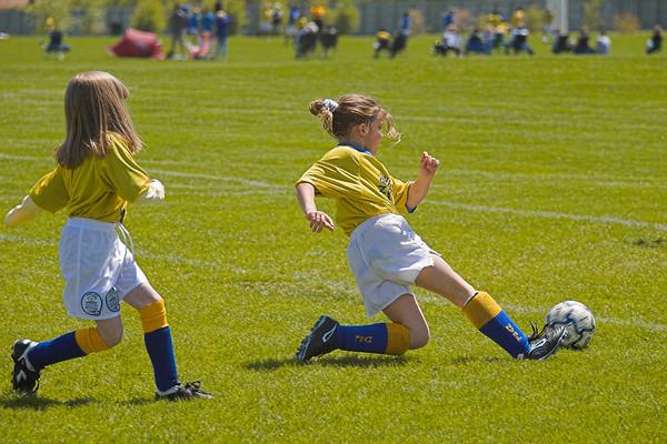 2nd Grade Soccer May 6, 2006