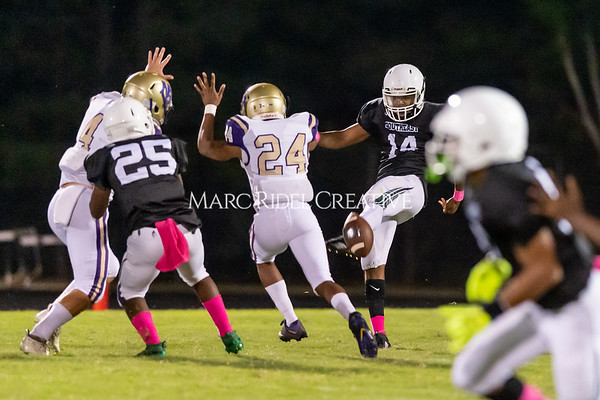 Broughton Varsity football at Southeast Raleigh. October 4, 2019. D4S_4959
