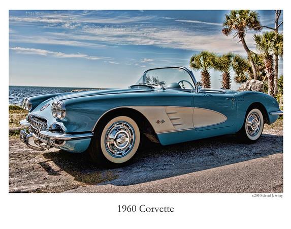 1960 Corvette & 1957 TBird