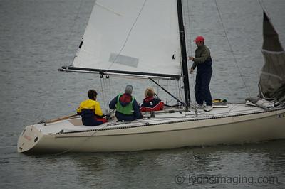 Island YC Sadie Hawkins Race 2/24/07