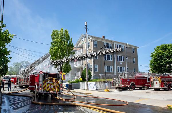 Providence- 2nd Alarm- Eaton Street-05/22/19
