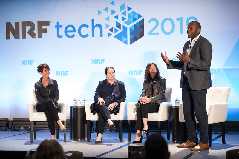 Martin Gilliard at NRFtech 2019