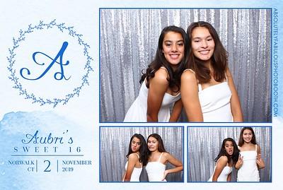 Aubri's Sweet 16