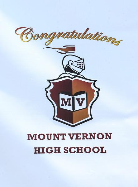 2020 MOUNT VERNON HIGH SCHOOL GRADUATION