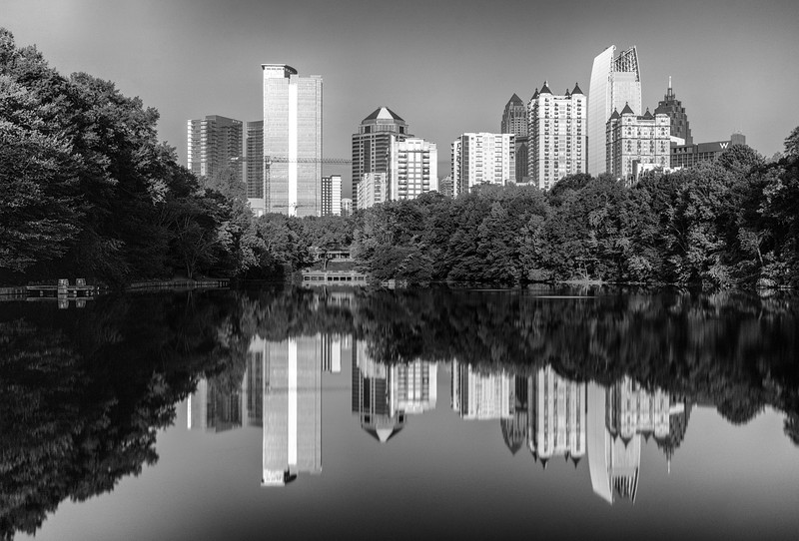 Atlanta Reflected