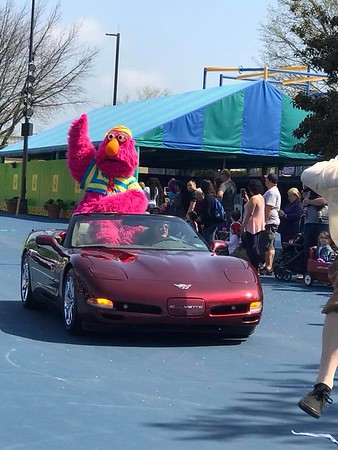 Sesame Place Opening Day Parade