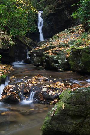 Upper Chattahoochee Falls and Horse Trough Falls