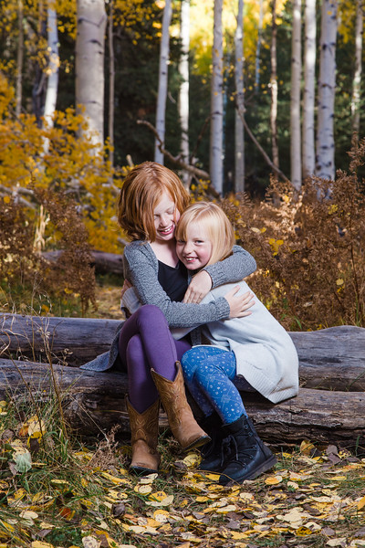 Mayla and Molly Speers | Flagstaff Family Photography