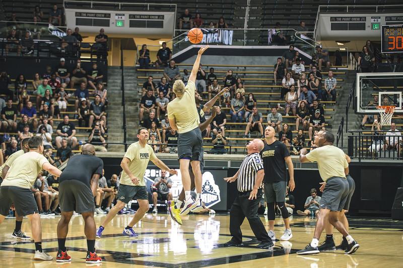 Purdue Alumni Game in Mackey Arena on August 4, 2018