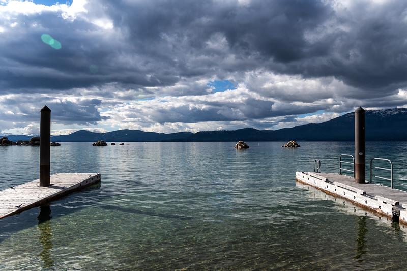 Boat launch at Lake Tahoe