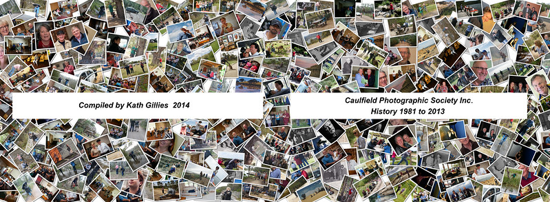 Caulfield Photographic  History and Year books 2014, 2015, 2016, 2017, 2018