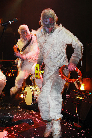 Here Come The Mummies!