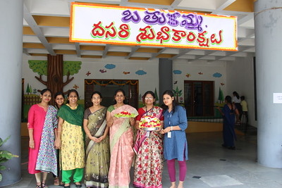 Bathukamma Celebrations Primary CBSE