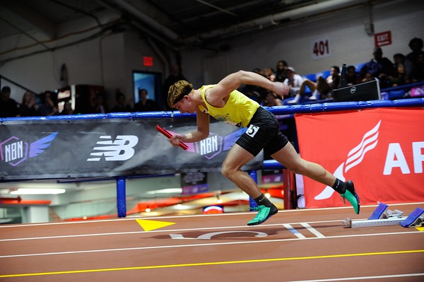 Day One Highlights Michigan Athletes - 2019 NB Indoor