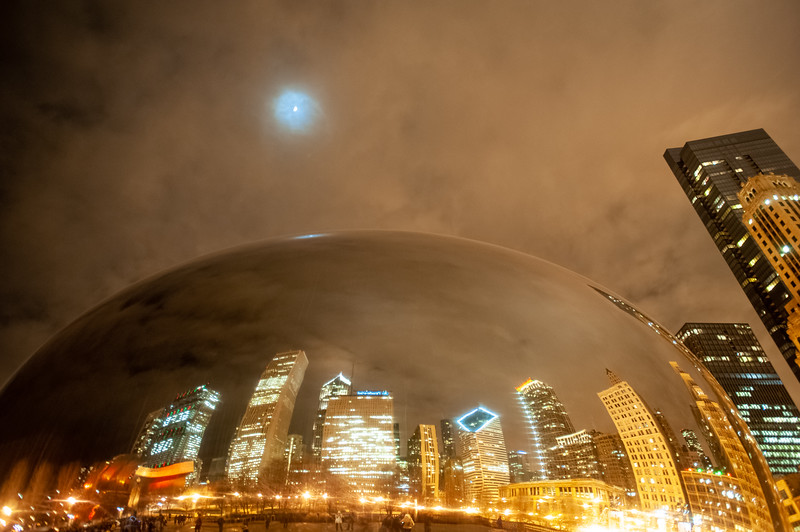 Overhead Moon Bean - December 12, 2012