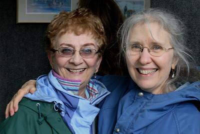 Molly and Gerry at Westerly Art Fair, May 25, 2013
