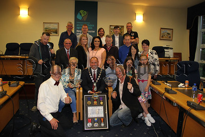 COUNCIL RECEPTION TO MARK ACHIEVEMENTS OF RUNNING 6 MAJOR MARATHONS
