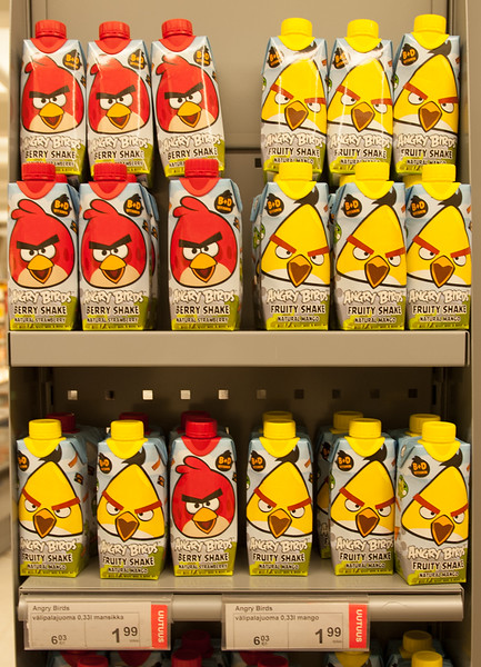 Angry Birds Smoothies