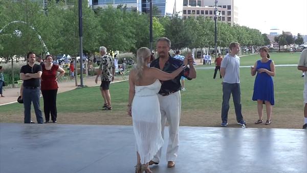 Tango in the Park Videos 7-27-14