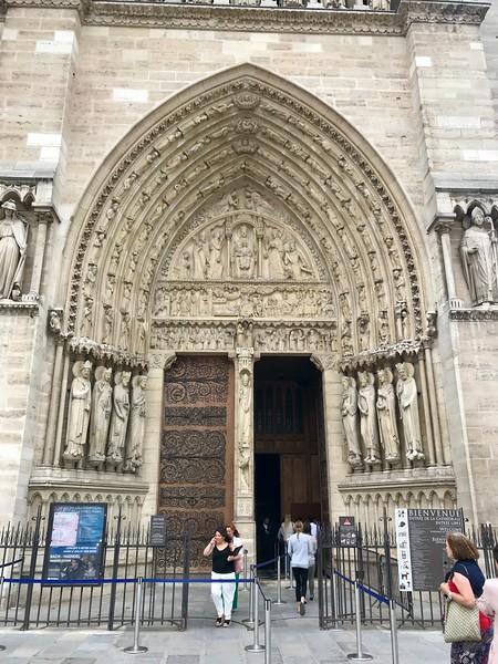 Doorway to Notre Dame