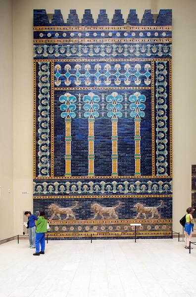 Wall from the Ishtar Gate (Babylon), Pergamon Museum, Berlin, Germany