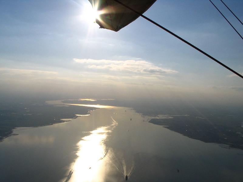 Thames Estuary & sun effects