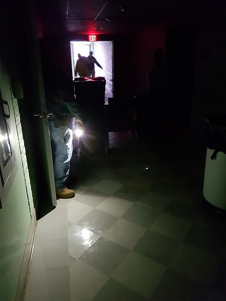 Billerica Town Hall power off