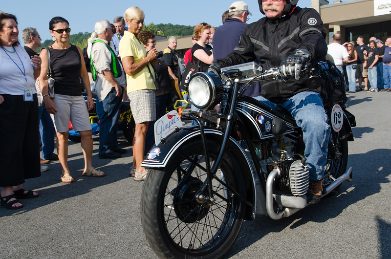 Cannonball Motorcycle Run 2012