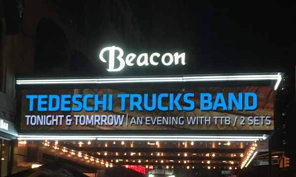 Tedeschi Trucks Band, Beacon Theatre, New York City, October 2016