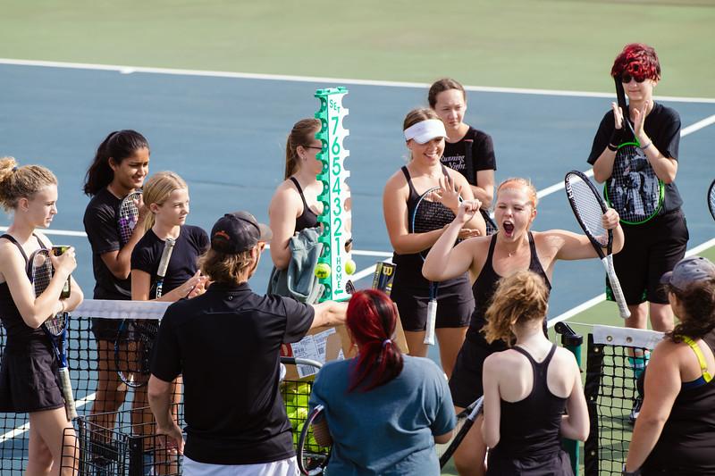WBL JV Girls Tennis 2021