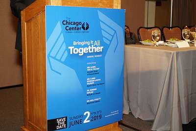 Chgo Center for Torah & Chessed Dinner-June 2, 2019