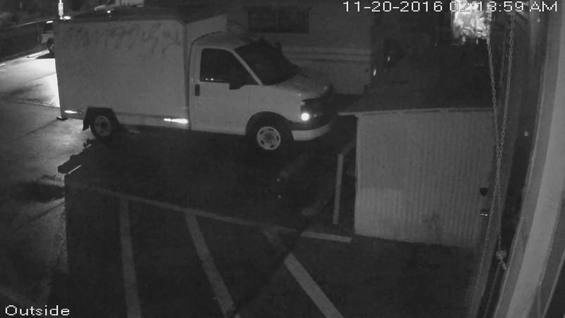 Food Truck Security Camera
