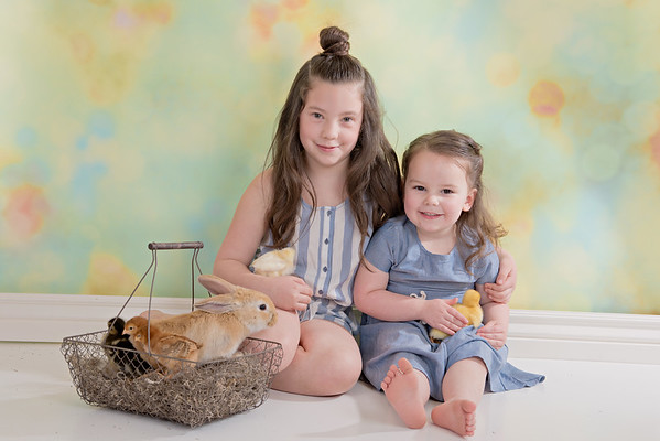 Rylynn & Aria Easter Mini 2017