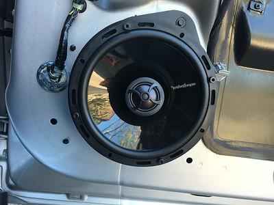 2011 Chevy Camaro Front Door Speaker Installation