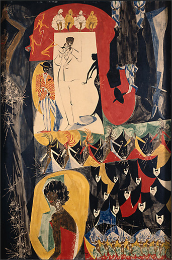 "Jacob Lawrence, ""Billboards"" (1952)"