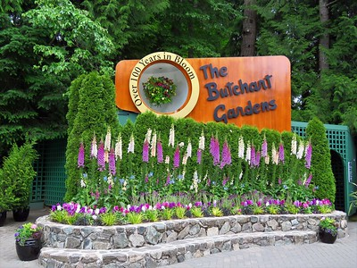 Butchart Gardens, Brentwood, BC