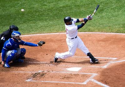 Indians and Royals April 24, 2014