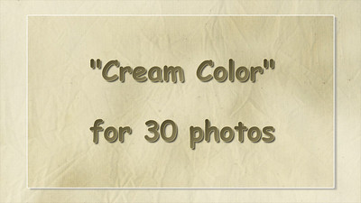 Cream Color for 30 photos