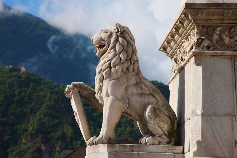 Bolzano Lion from Waltherplaza