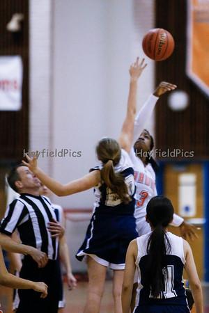 Girls Frosh Basketball v Washington Lee 2/13/15