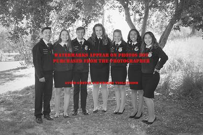 2019-2020 Sonora Officer Team