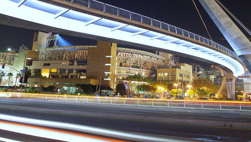Petco Park Under Walking Bridge