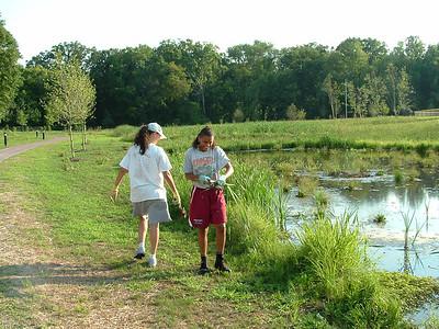 2011-08-09 & 10 Volunteers & WVWA Bird Blind