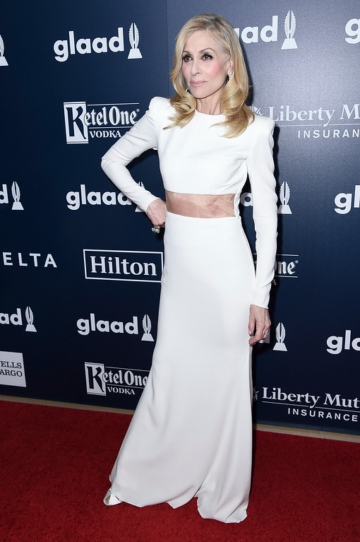 . Judith Light attends the 28th Annual GLAAD Media Awards at the Beverly Hilton Hotel on Saturday, April 1, 2017, in Beverly Hills, Calif. (Photo by Richard Shotwell/Invision/AP)