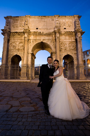 Rome Newly Weds