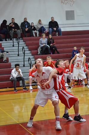 JVB Basketball vs Lowville 1-25-17