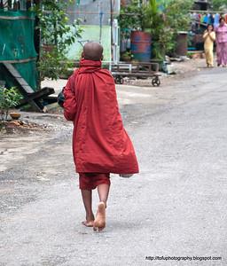 Walking down Kyee Myindaing Kanner Road pt 2 - August 2010
