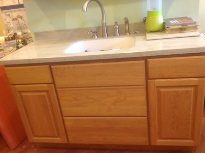 Starmark Cabinetry Display For Sale - (Countertop not included) - $1000.00 Cash