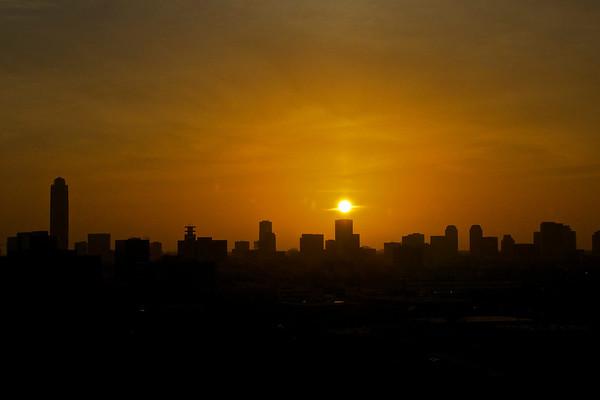Houston Galleria Sunset