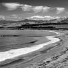 Califirnia Central Coast Shoreline _ bw